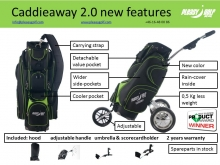 Pleasy Golf Caddieaway 2.0 new features picture